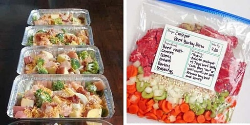 Castleview Hospital/USU Extension Quick and Easy Cooking: Freezer Meals