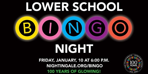 Lower School Bingo Night