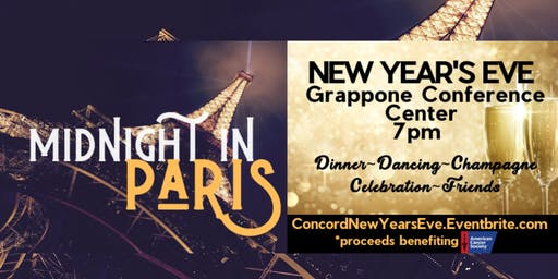 New Year's Eve Gala: Midnight in Paris