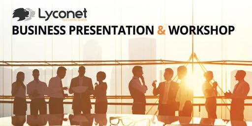 Lyconet Business Presentation & Workshop: Toronto, ON - February 8, 2020