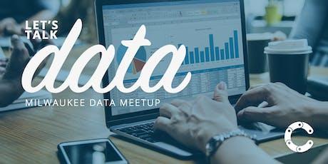 August Milwaukee Data Meetup tickets