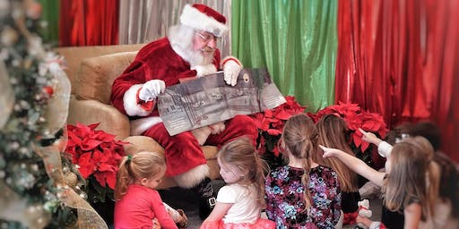 Pictures and Story Time with Santa