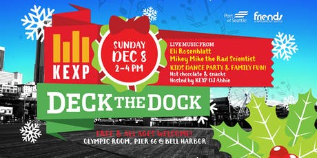KEXP Deck the Dock 2019 tickets