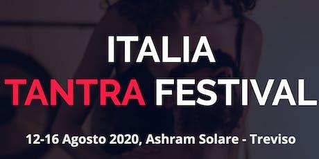 Italia Tantra Festival 2019 biglietti