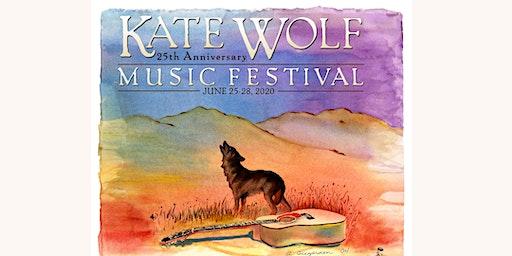 Kate Wolf Music Festival 2020 - 25th Anniversary