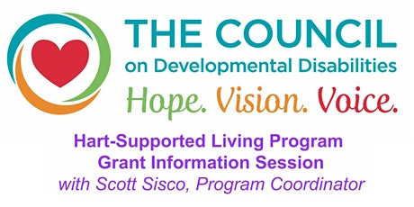 Hart Supported Living (HSL) Grant- Information Session tickets