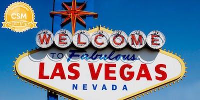 Certified ScrumMaster® Class - Las Vegas