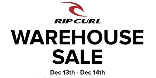 Rip Curl Warehouse Sale
