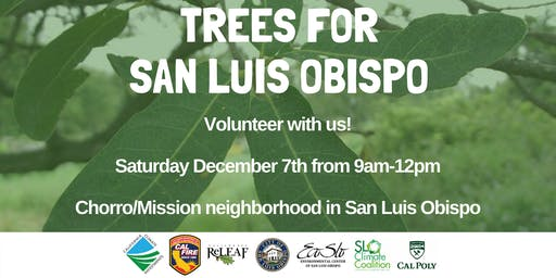 December 7th Tree Planting with ECOSLO!
