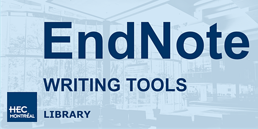 Writing Tools - EndNote
