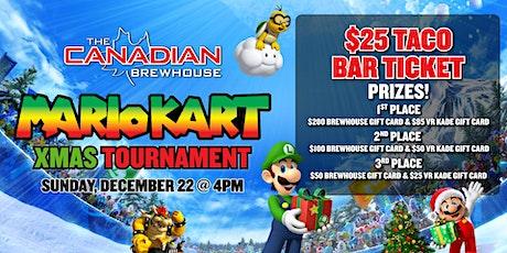 Xmas Mario Kart Tournament! tickets