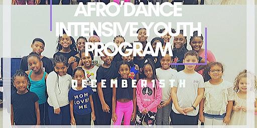 AfroDance Intensive Youth Program & Mini ShowCase
