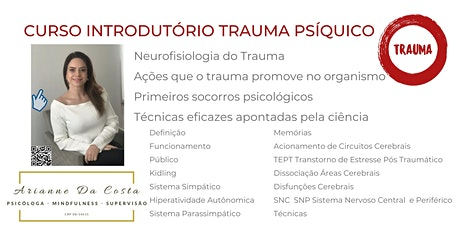 CURSO INTRODTÓRIO TRAUMA PSÍQUICO Tickets