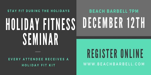 How to Stay in Shape Through the Holidays
