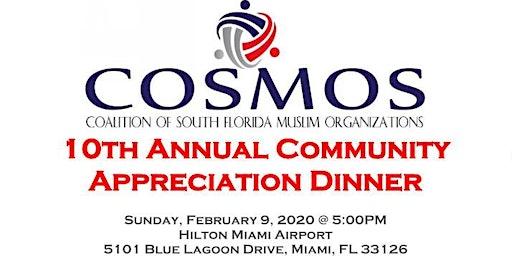 10th Annual COSMOS Community Appreciation Dinner