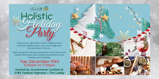 iClub's Holistic Holiday Party, Boca Raton