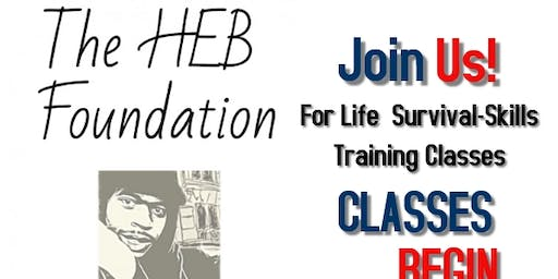The HEB Foundation Life Skills Survival Classes
