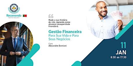 Gestão Financeira - Prosperidade na vida e nos Negócios em 2020 bilhetes