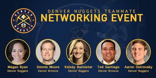 2019 Denver Nuggets Teammate Networking Event