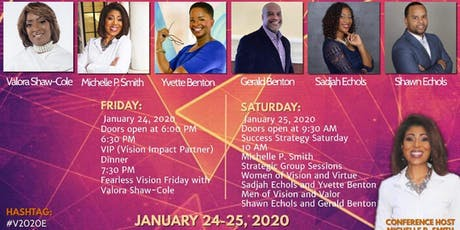 The Vision 20/20 Experience tickets