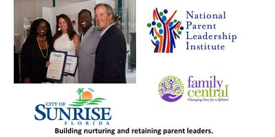 Parent Leadership Training Institute (PLTI) City of Sunrise