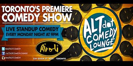 ALTdot Comedy Lounge - February 24 @ The Rivoli tickets
