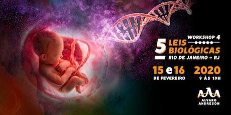 5 Leis Biológicas (4° Workshop) - Rio de Janeiro ingressos