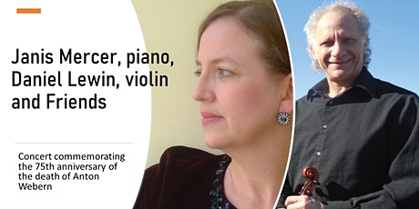Janis Mercer, piano, Daniel Lewin, violin and Friends tickets