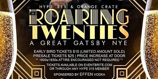 """The Roaring Twenties"" A Great Gatsby NYE"