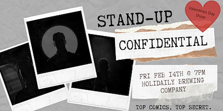 Stand-Up Confidential at Holidaily Brewing Co. tickets