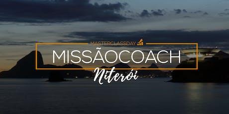 MASTERCLASS DAY - MISSÃO COACH   Niterói   com Bruno Juliani ingressos
