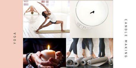 Candle Making & Yoga tickets