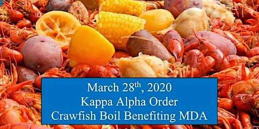 Kappa Alpha Crawfish Boil benefiting MDA