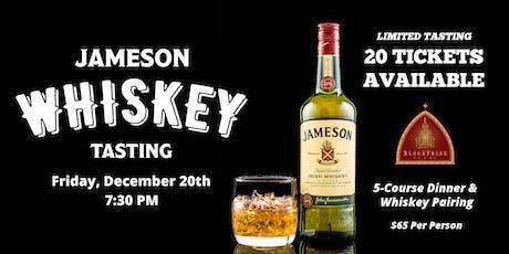Jameson Whiskey Tasting & Dinner Pairing tickets