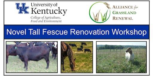 Kentucky Novel Tall Fescue Renovation Workshop