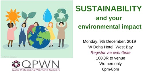 QPWN December 2019: Sustainability and your environmental impact
