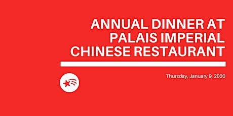 Dîner annuel | Annual Dinner à/at Palais Imperial Chinese Restaurant tickets