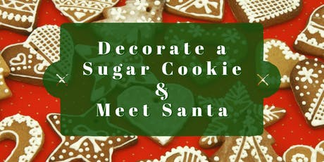 Decorate a Sugar Cookie & Meet Santa tickets