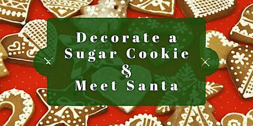 Decorate a Sugar Cookie & Meet Santa