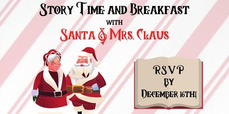 Story Time and Breakfast with Santa & Mrs. Claus tickets