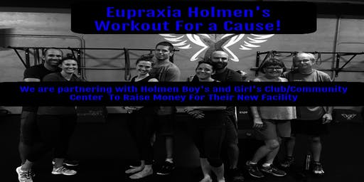 Free Workout Benefit for the Holmen Boy's and Girl's Club/Community Center