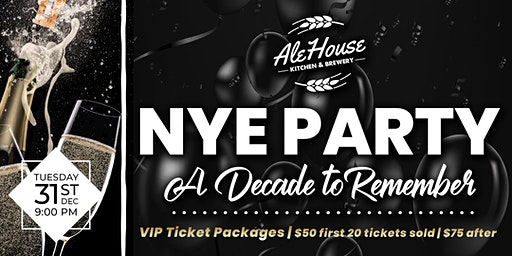 New Years Eve Party- A Decade to Remember (21+)