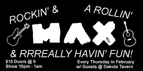 MAX residency with Lenny Bull and Special Guest TBA tickets