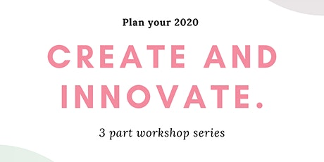 Create and Innovate Workshop  tickets