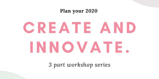 Create and Innovate Workshop