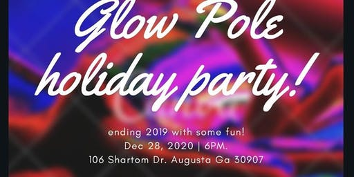 Glow Pole Holiday Party