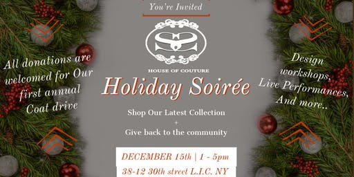 SS House of Couture's Holiday  Soiree
