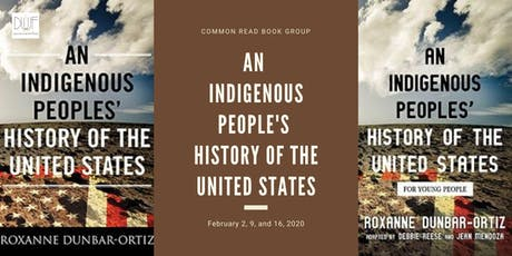 Common Read Book Group: An Indigenous Peoples' History of the United States tickets