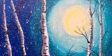 Inspired Art - Teen Paint Along
