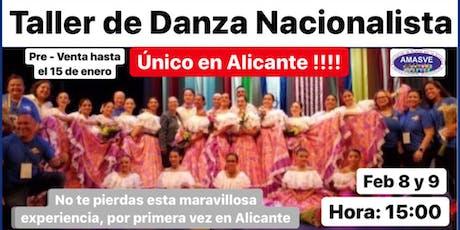 1ER TALLER DE DANZA NACIONALISTA EN ALICANTE - ESPAÑA biglietti
